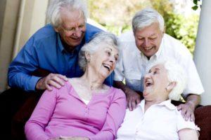 веселые пенсионеры