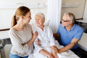 посещение родных в больнице