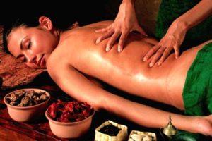 процесс массажа девушке