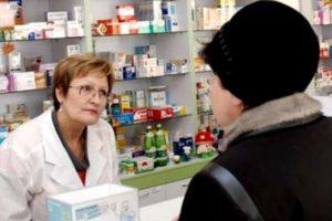 разговор женщины и аптекаря