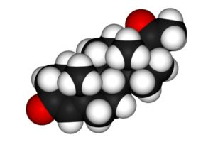 молекула женского гормона